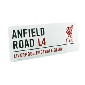 Liverpool FC Anfield Road Street Sign  | Liverpool FC Gifts Shop