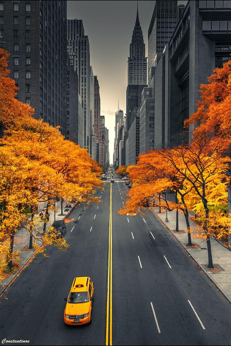 USA Travel Inspiration- New York Autumn Dreams....by konstantinos metallinos~~