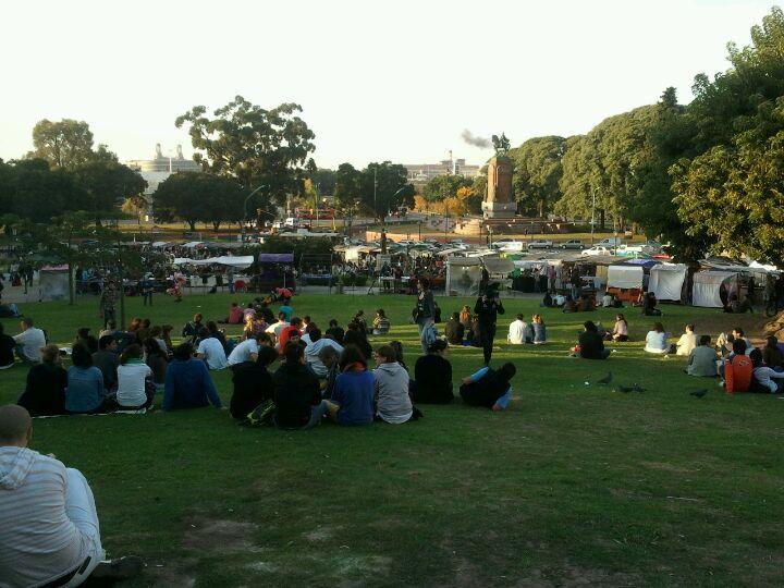 Plaza Francia en Ciudad de Buenos Aires