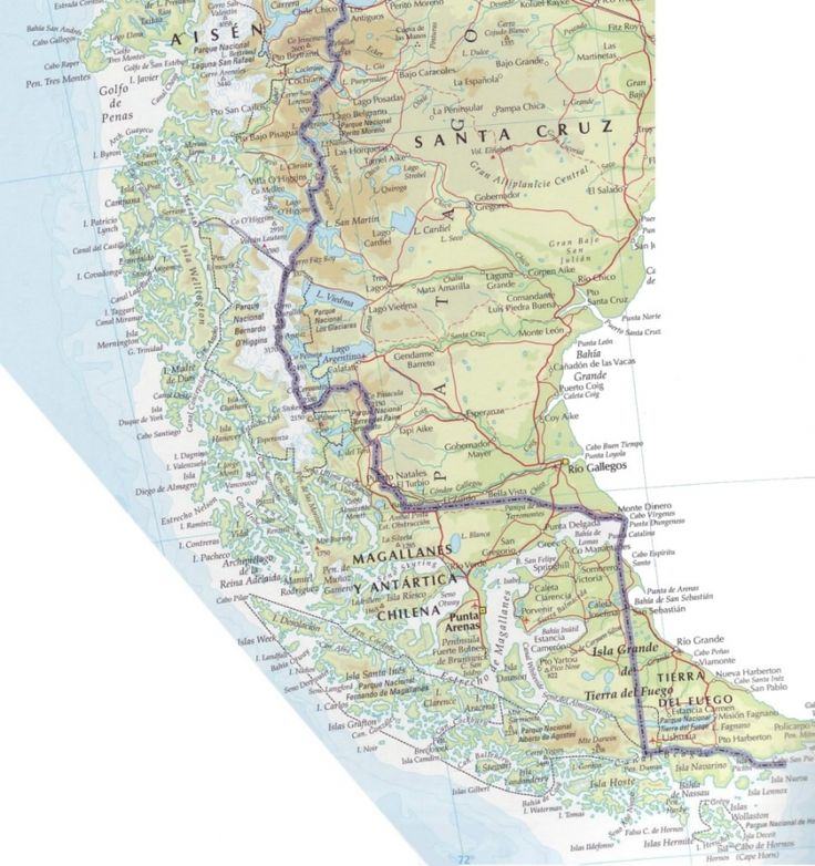 Best Chile Maps Images On Pinterest Chile Maps And Travel - Chile physical map