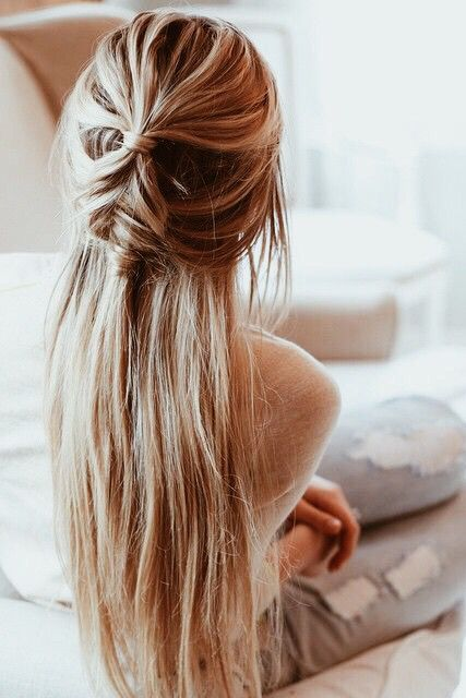 What's great about long hair is that it is so versatile. You can pretty much do whatever you want wi