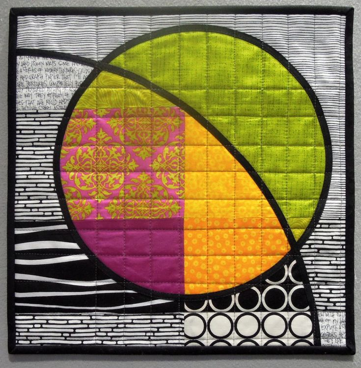 art quilts with circles | also spent some time creating these fun sample blocks for a new ...