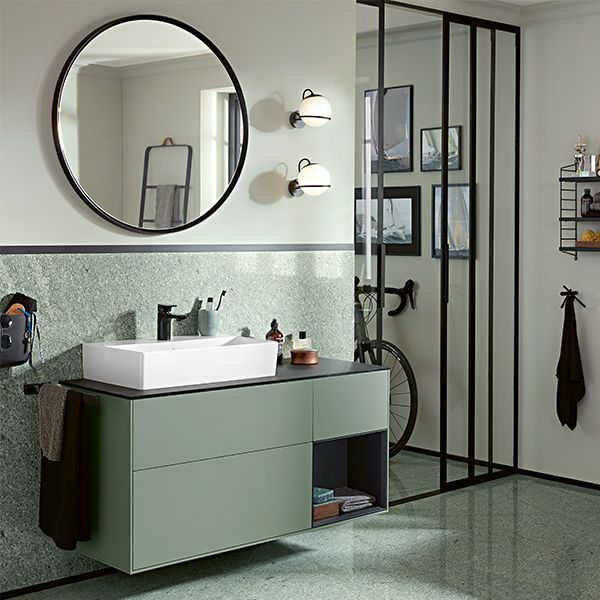 It Doesn T Have To Shine To Stand Out The Matt Look Is The Big Trend In Modern Bathroom Design Modernes Badezimmerdesign Bad Inspiration Badezimmer Design