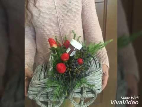 ماشین گل و توت فرنگی www.hodoliva.com