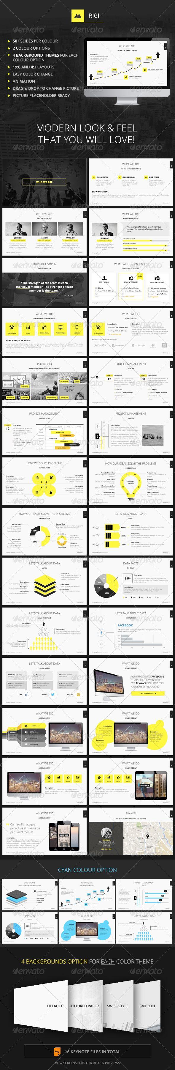 RIGI - Keynote Template — Keynote KEY #simple #infographics • Available here → https://graphicriver.net/item/rigi-keynote-template/6928908?ref=pxcr