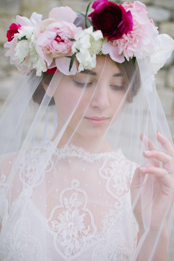 Gorgeous floral crown