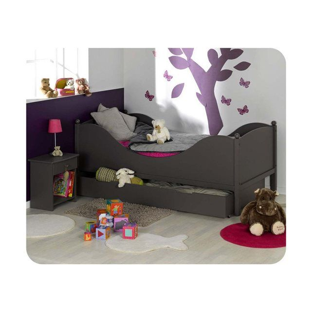 lit enfant avec rebord hoze home. Black Bedroom Furniture Sets. Home Design Ideas