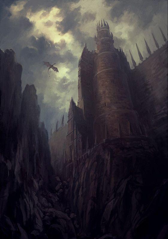 ArtStation - Dragon's Pass, Andreas Rocha