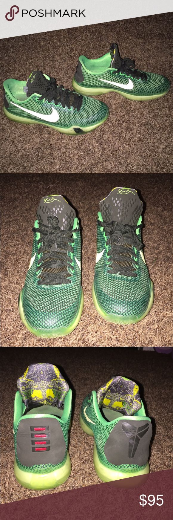 selling these because they got too small... wore these a few times in my basketball games last year they are in great condition and have never been worn outside only on the basketball court. Nike Shoes Sneakers