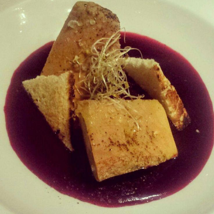 Deseando volver a probar el foie micuit del restaurante Top One del Cacique en Padre Damian #cenandoconangela @delcacique #toponedelcacique #restaurantesdemadrid #restaurantesmadrid