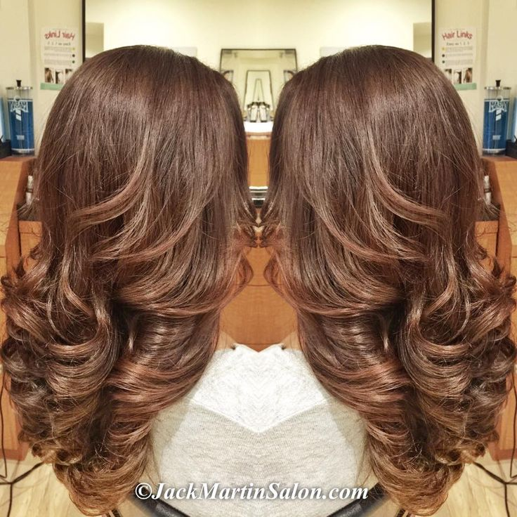 Light Auburn chocolate mocha.