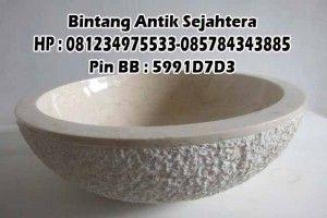 Wastafel Bowl Marmer