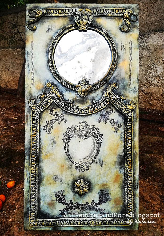 Baroque-Style Mirror Panel - IKEA Hack