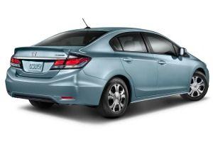 2013 Honda Civic Hybrid Sedan Edmunds.com