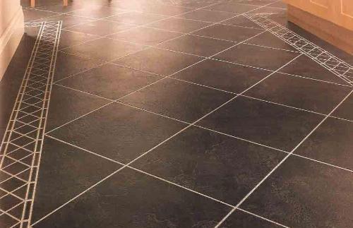 nice vinyl floor kitchen design inside spaces pinterest sol. Black Bedroom Furniture Sets. Home Design Ideas