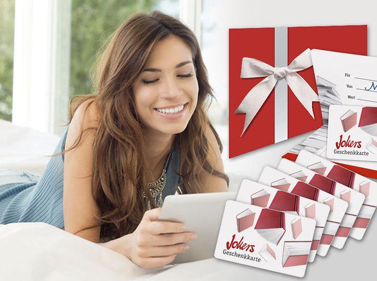 Gewinne mit Jokers eine von 20 Jokers Geschenkkarten im Wert von 10.-, 20.- und 50.-!  Mach mit und gewinne einen Gutschein für Bücher, Hörbücher, Filme, Musik, Spiele, oder Kalender.  Teste hier dein Glück im Wettbewerb: http://www.gratis-schweiz.ch/gewinne-20-jokers-geschenkkarten/  Alle Wettbewerbe: http://www.gratis-schweiz.ch/