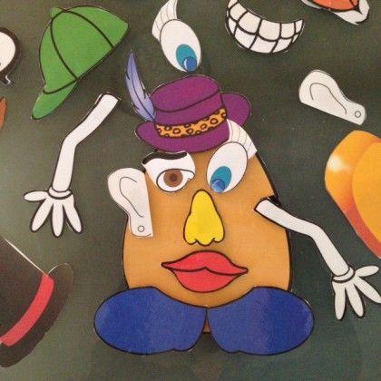 Mr Patate diy à imprimer, plastifier et c'est parti ! Le fun comme système de gestion de classe. Une fois que les élèves méritent toutes les parties, vous pouvez avoir une fête de classe!