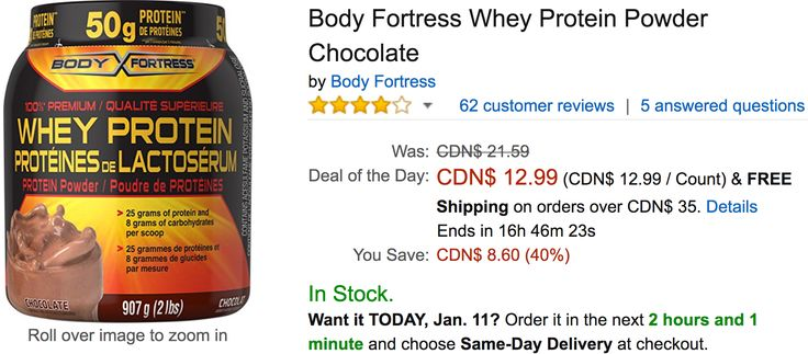 Amazon Canada Todays Deals: Save 40% on Body Fortress Whey Protein Powder Chocolate 36% on Umbra Fish Hotel Aq... http://www.lavahotdeals.com/ca/cheap/amazon-canada-todays-deals-save-40-body-fortress/163521?utm_source=pinterest&utm_medium=rss&utm_campaign=at_lavahotdeals