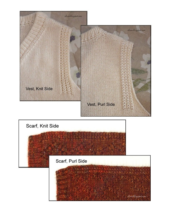 Knitting Stitch To Prevent Curling : Latch-up edge to stop curl for machine knitting (Mostly Machine) Knitting ...