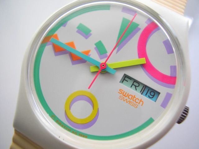 sigh...I want this 80s Swatch SO BAD