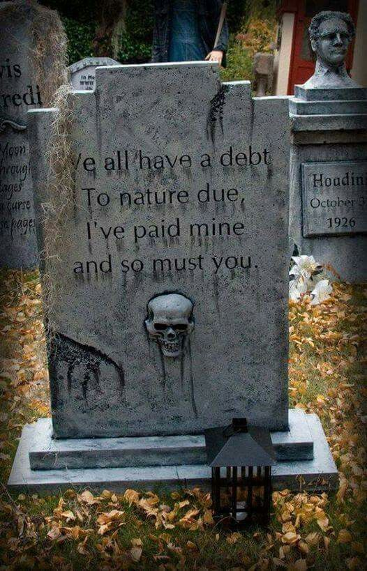 Tombstone writings