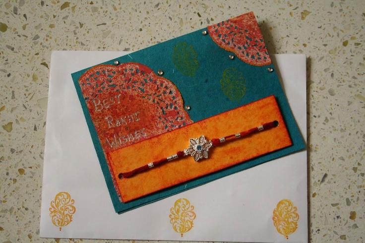 handmade Rakhi cards!