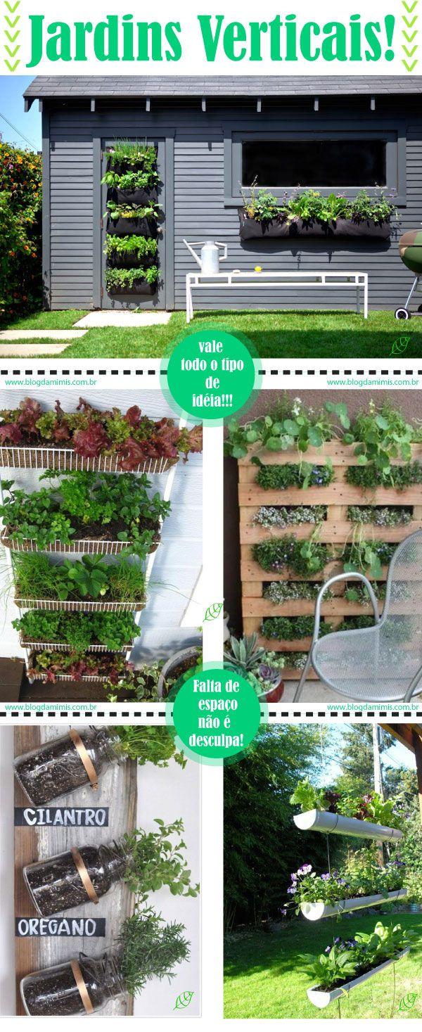 Gostei da estrutura de metal para fazer a horta