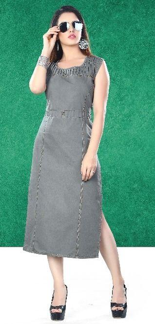 Rung Denim Fashion Kurti (10 pc catalog )