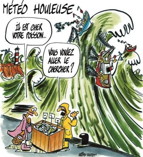 Météo bretonne , etoui dur métier de pêcheur  | Finistère | Bretagne | #myfinistere