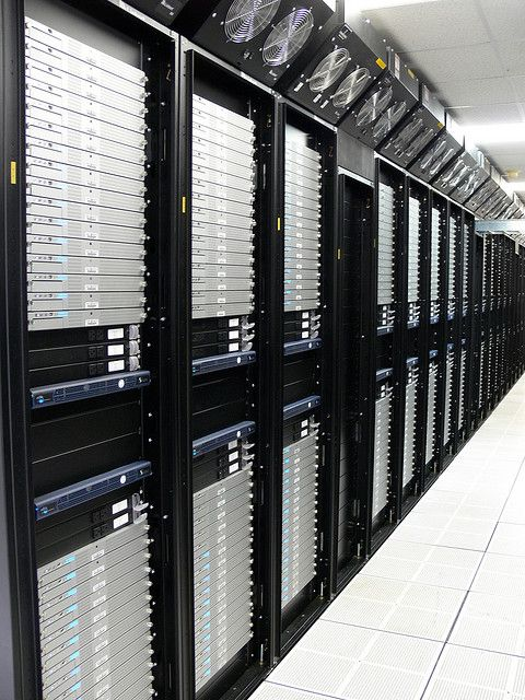 System X - Xserve G5 supercomputing cluster.