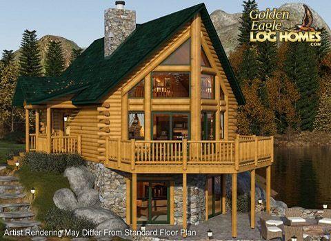 1000 Ideas About Log Home Floor Plans On Pinterest Log