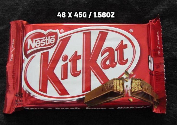 48 x 45g / 1.58 oz Kit Kat Guarantee Fresh Made in CANADA Free Shipping To USA…
