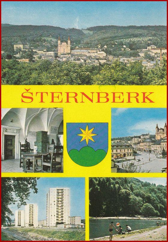 Šternberk * erb, okénková * Olomouc * BV1814
