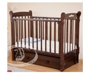 Детская кроватка Можга (Красная Звезда) С 579 Артем накладка №6 Шарлотта (продольный маятник) - Акушерство.Ru