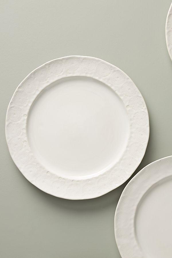 Old Havana Dinner Plates Set Of 4 Plates White Dinner Plates