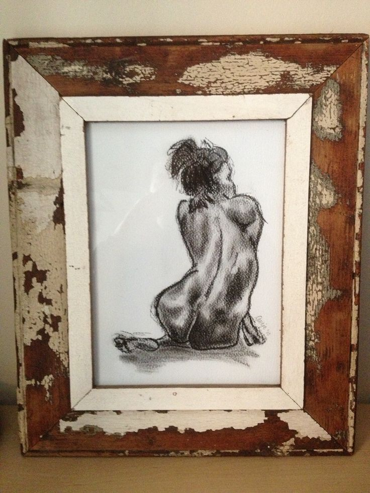 #graphite on paper #framed #art #drawings #nude #woman #sketch