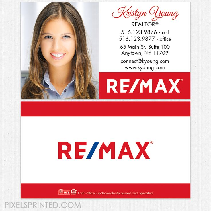 13 best remax images on pinterest real estate business canada and remax business cards remax business cards remax cards realtor business cards reheart Images