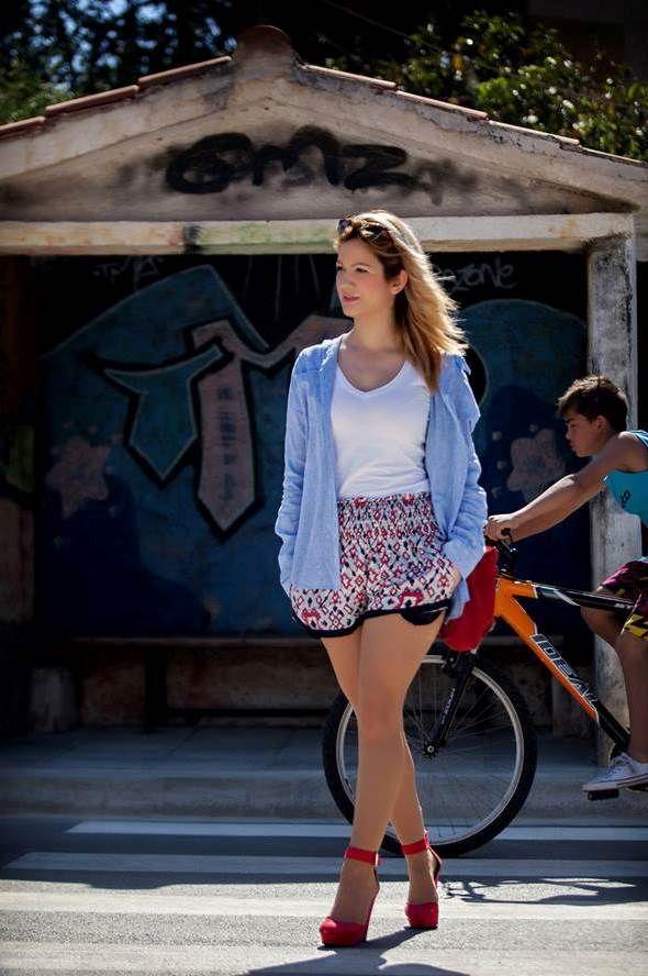 Χριστίνα Ρούσση: Casual   Jenny.gr