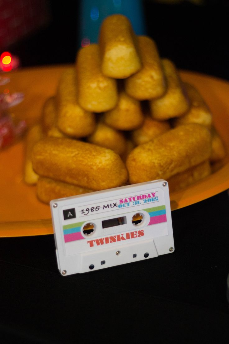 80s Theme Party Food Ideas - 80s themed party photos courtesy of b marie photography design by events by
