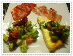 Parmesanpaj för den som älskar Italien och parmesan.