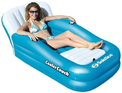 Solstice-Floating-Cooler-Couch-15181SF-Pool-Lounger-NEW