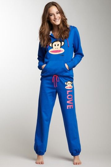 Paul Frank Glitter Trim Logo Sweatpant by Non Specific on @HauteLook