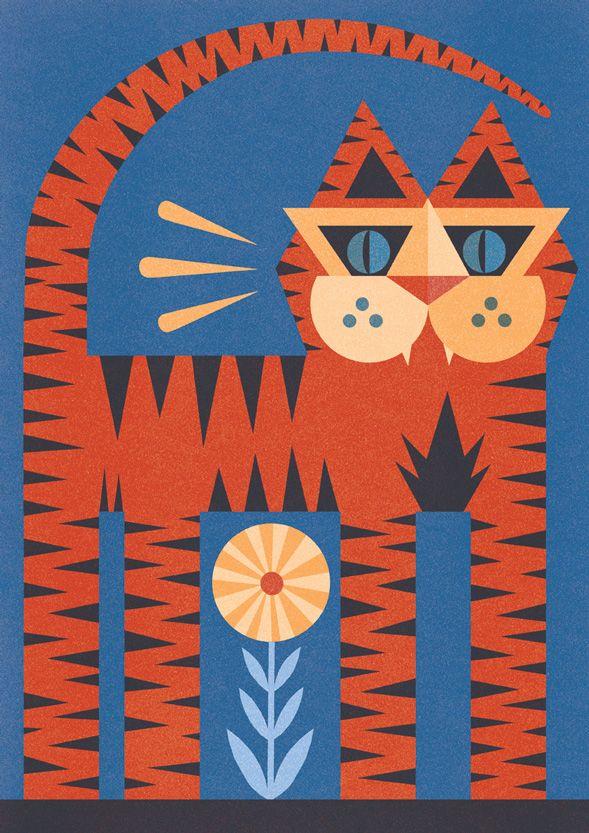POCKO | Ben Newman's Portfolio #illustrator #art #cat