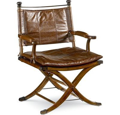 Safari Desk Chair...Ernest Hemingway collection at Thomasville