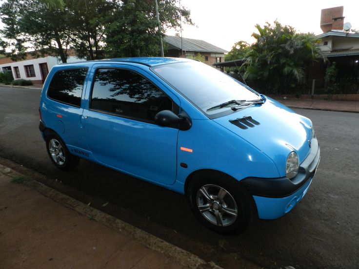 Renault Twingo - AUTO - CAR - AUTOMOVIL - TUNING - Modificado - AZUL - BLUE - CELESTE @MALBRAN