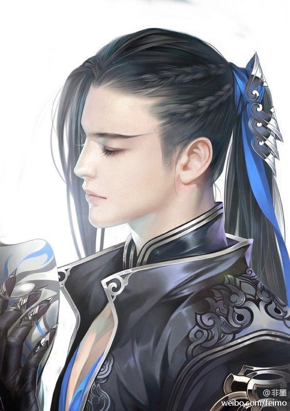 Feimo, amazing hairstyle