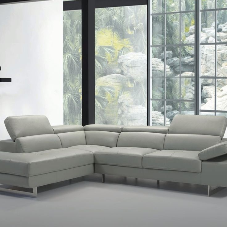 Barts 5 Motion Headrests Sectional Sofa, Beverly Hills Furniture