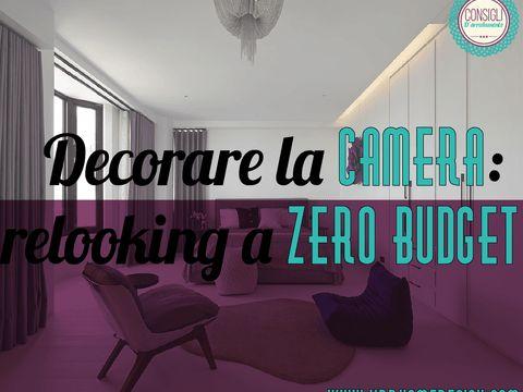 Volete cambiare aria alla vostra camera ma sempre rimanendo col budget contenuto? Vediamo come decorare la camera rimanendo nell'obiettivo zero euro.