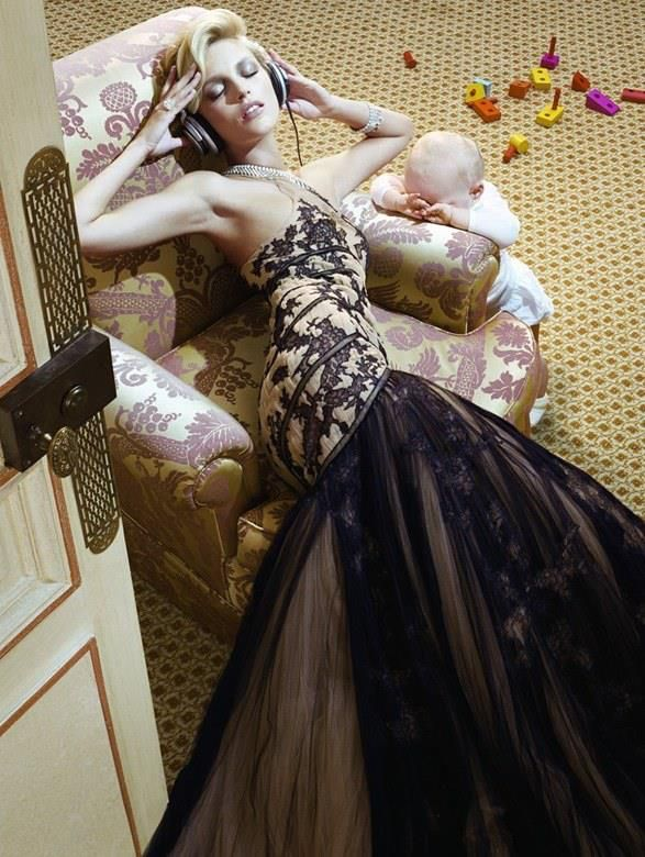 THE VAGARIES OF MAMA ..♥ - source: theswellelife.com .. - photographer: Miles Aldridge ..♥