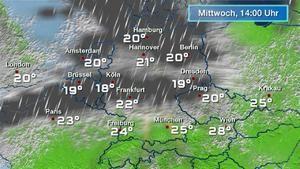 Regenradar Deutschland - aktueller Niederschlagsradar für Deutschland - wetter.de